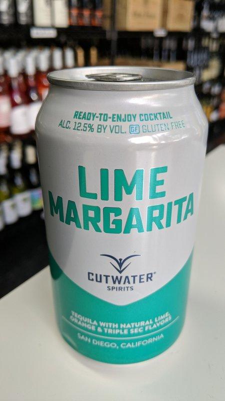 Cutwater Cutwater Tequila Margarita 12oz