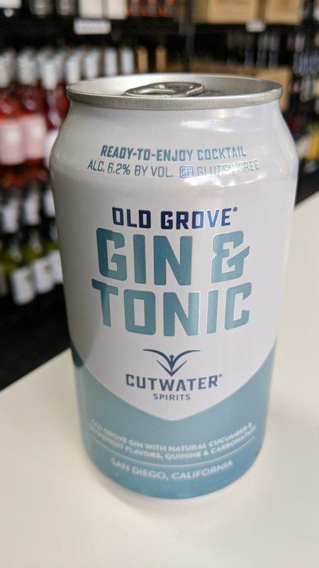 Cutwater Cutwater Gin & Tonic 12oz