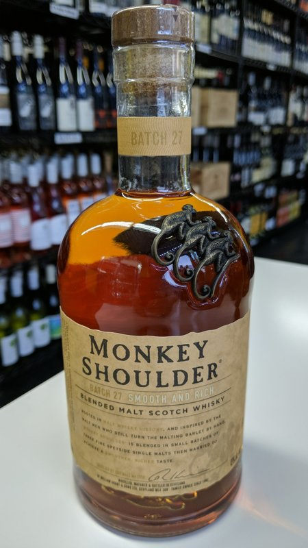 Monkey Shoulder Monkey Shoulder Scotch 750ml