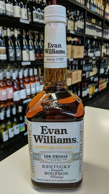 Evan Williams Evan Williams White 100 Proof Bourbon 1L