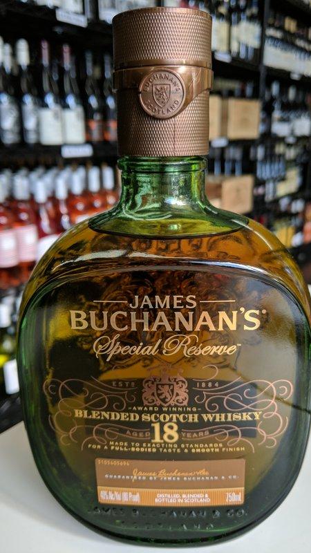 Buchanan's Buchanan's 18Y Scotch 750ml