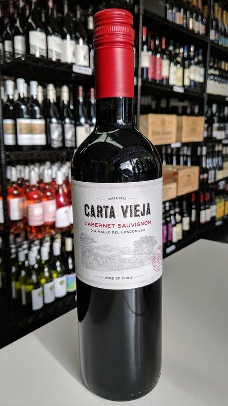 Carta Vieja Carta Vieja Cabernet Sauvignon 2019 750ml