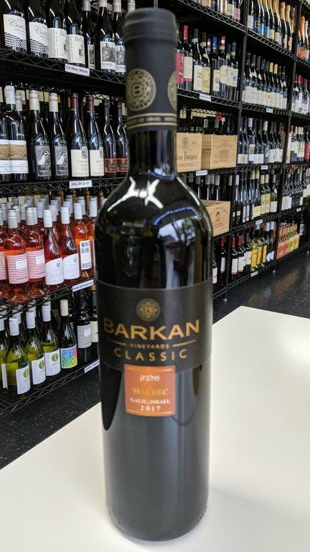 Barkan Barkan Classic Malbec 2017 750ml