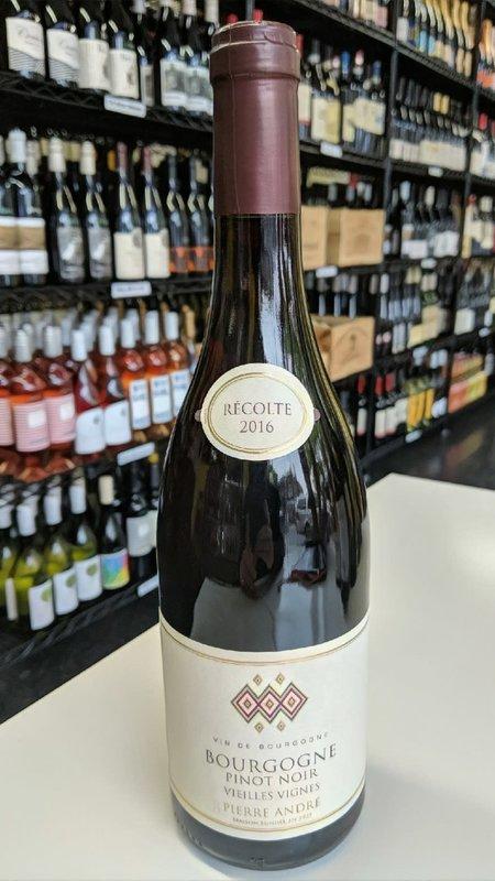 Pierre Andre Pierre Andre Bourgogne Pinot Noir 2016 750ml