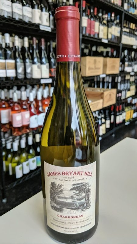 James Bryant Hill James Bryant Hill Chardonnay 2015 750ml