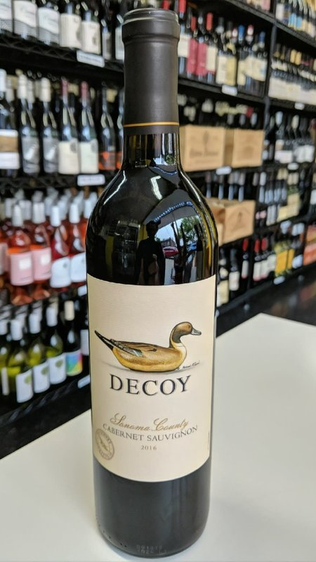 Decoy Decoy Cabernet Sauvignon 2018 750ml