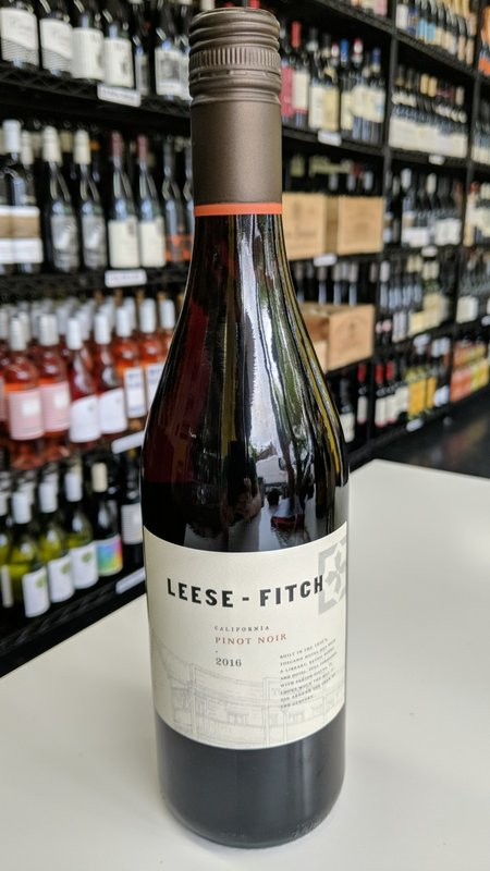 Leese-Fitch Leese Fitch Pinot Noir 750ml