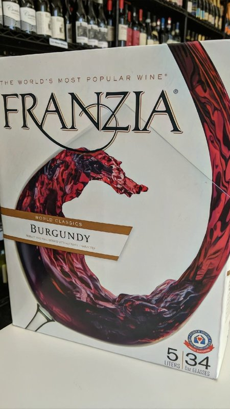 Franzia Franzia Burgundy NV 5L