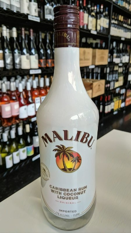 Malibu Malibu Caribbean Rum Coconut Liqueur 750ml