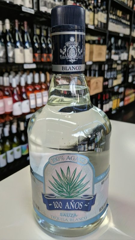 Sauza Sauza 100 Anos Blanco Tequila 1L