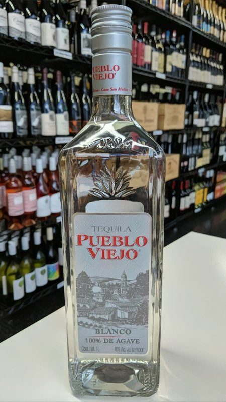 Pueblo Viejo Pueblo Viejo Blanco Tequila 750ml