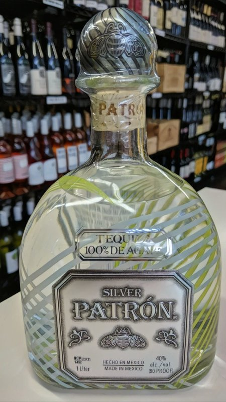 Patron Patron Silver Limited Edition Tequila 1L