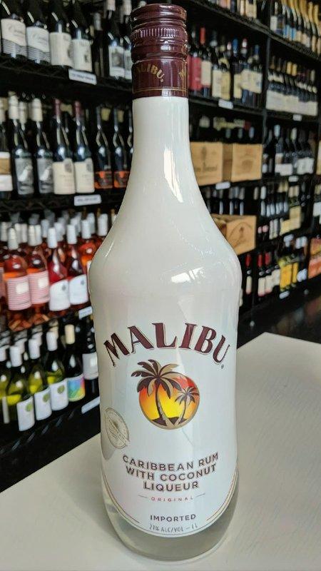 Malibu Malibu Caribbean Rum Coconut Liqueur 1L