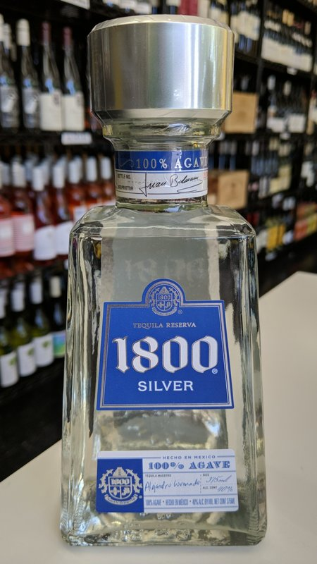 1800 1800 Silver Tequila 375ml