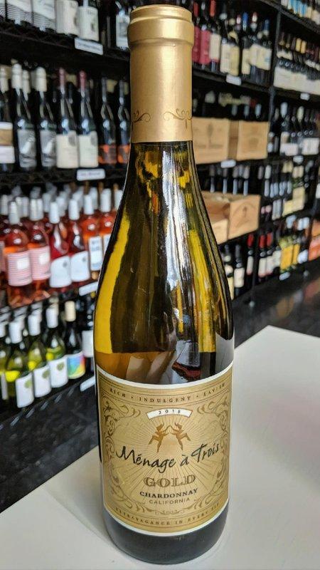 Menage a Trois Ménage A Trois Chardonnay Gold 2018 750ml