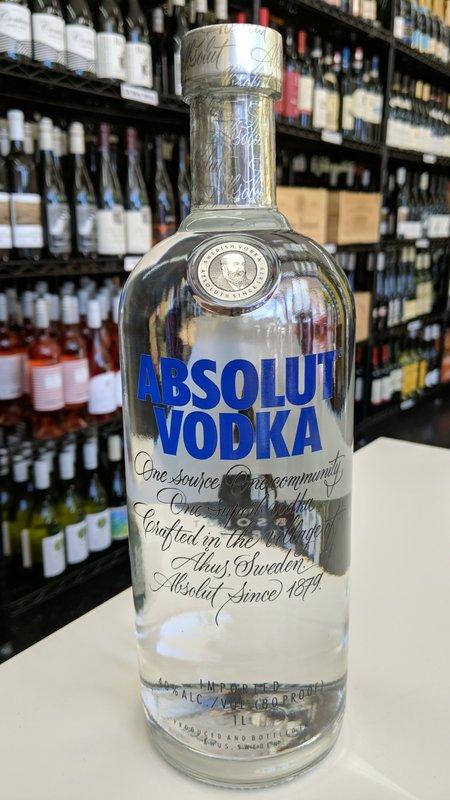 Absolut Absolut Vodka 1L