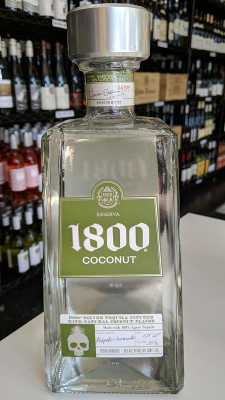 1800 1800 Coconut Tequila 1.75L