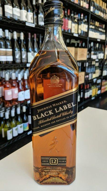 Johnnie Walker Johnnie Walker Black Label Scotch 1L