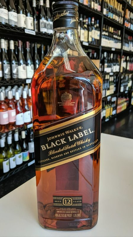 Johnnie Walker Johnnie Walker Black Label Scotch 1.75L