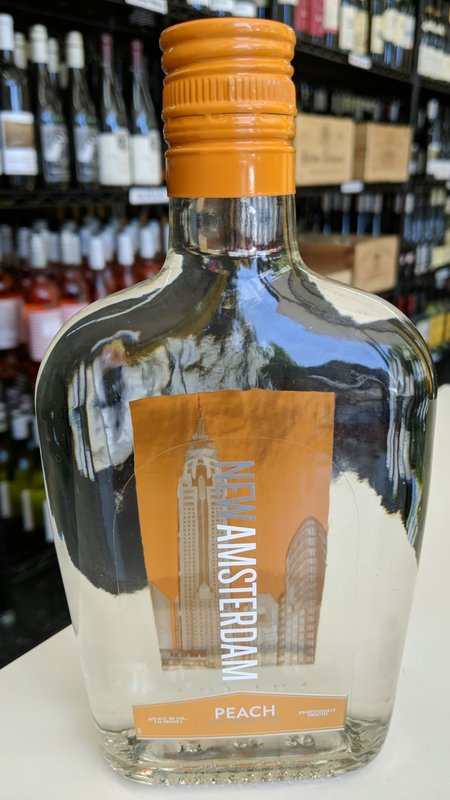 New Amsterdam New Amsterdam Peach Vodka 375ml