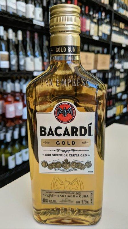 Bacardi Bacardi Gold Rum 375ml