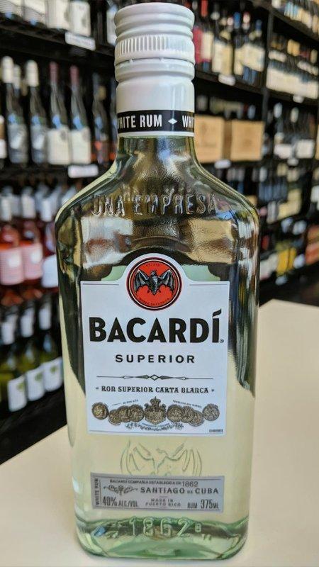 Bacardi Bacardi Superior Rum 375ml