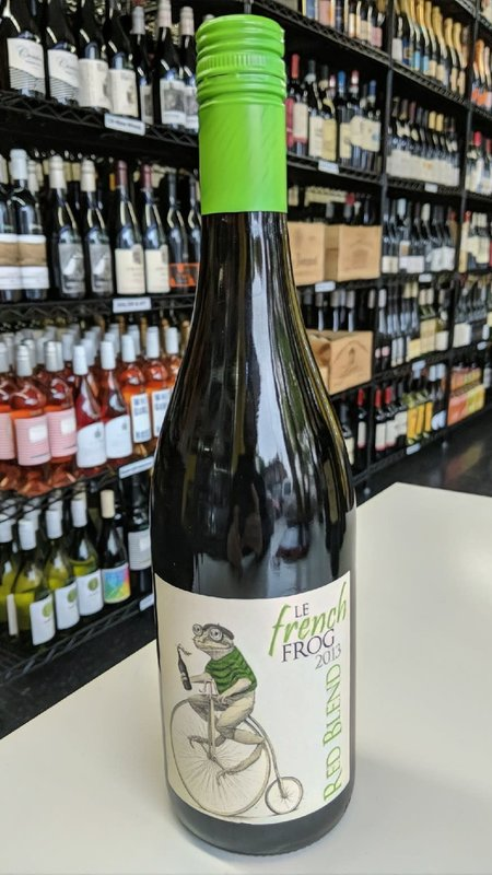 Le French Frog Le French Frog Red 2013 750ml