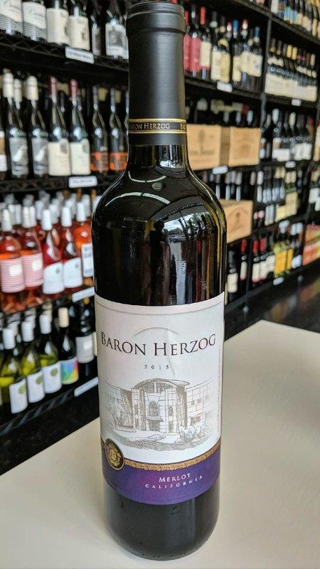 Baron Herzog Baron Herzog Merlot 2015 750ml