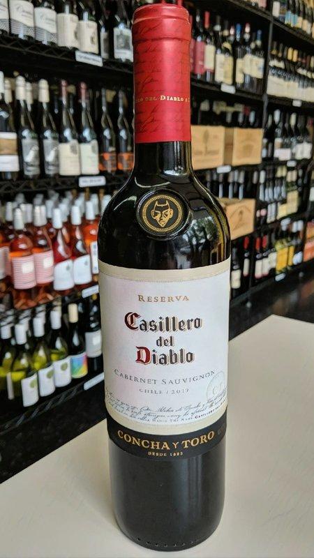 Casillero del Diablo Casillero del Diablo Cabernet Sauvignon 2019 750ml