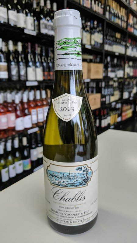 Domaine Vocoret & Fils Domaine Vocoret & Fils Chablis White Burgundy 2013 375ml