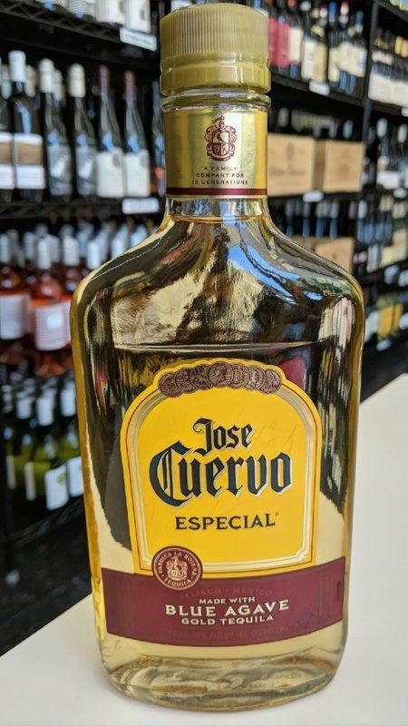 Jose Cuervo Jose Cuervo Gold Especial Tequila 375ml Flask
