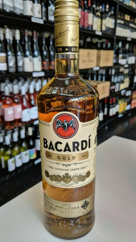 Bacardi Bacardi Gold Rum 1L