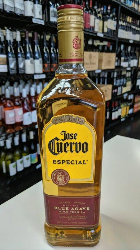 Jose Cuervo Jose Cuervo Gold Especial Tequila 750ml