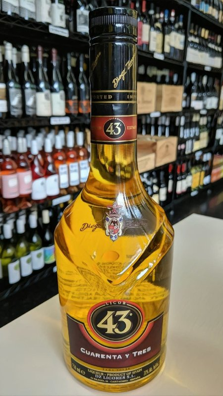Licor 43 Cuarenta y Tres Licor 43 750ml