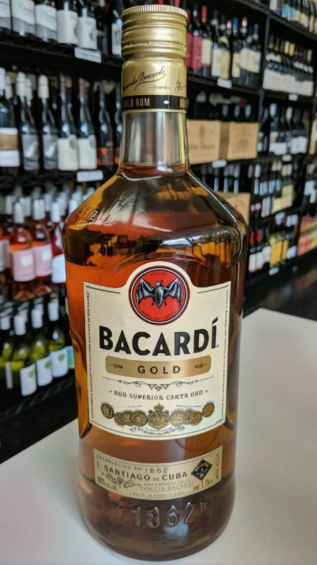 Bacardi Bacardi Gold Rum 1.75L