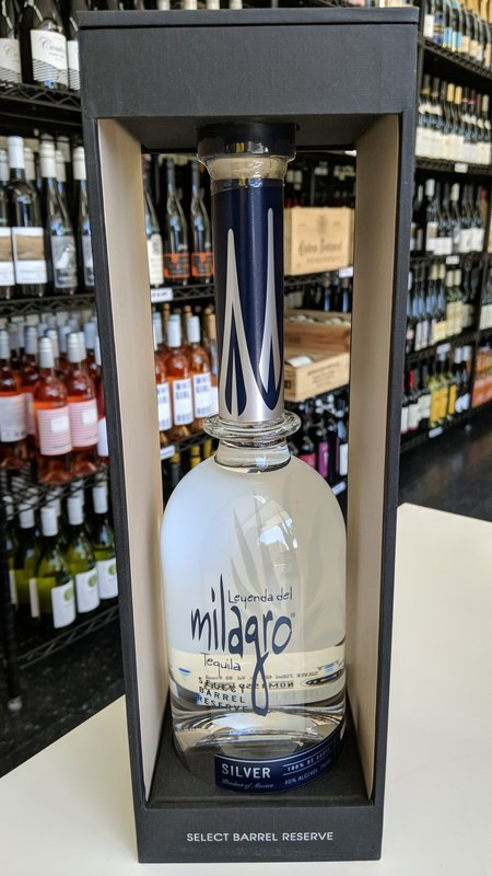 Milagro Milagro Silver Select Barrel Reserve Tequila 750ml