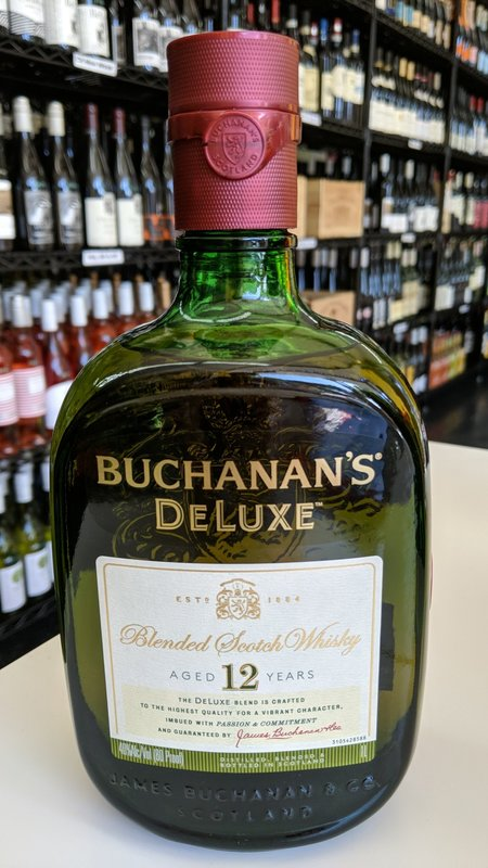 Buchanan's Buchanan's 12Y Scotch 1L