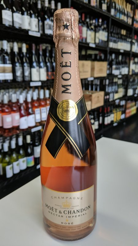Moet & Chandon Moet & Chandon Nectar Imperial Rose Champagne 750ml