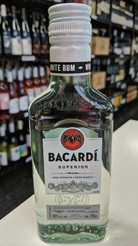 Bacardi Bacardi Superior Rum 200ml