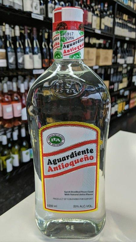Antioqueno Aguardiente Antioqueño Tapa Roja 1L
