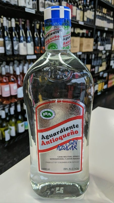 Antioqueno Aguardiente Antioqueño Sin Azucar 1L