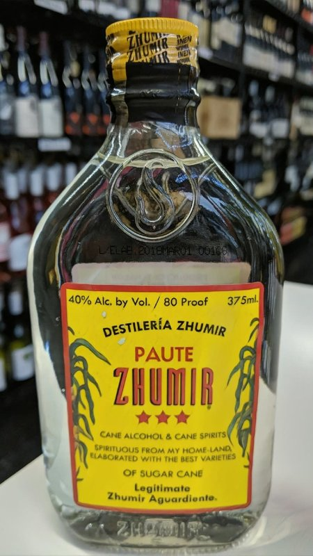 Zhumir Zhumir Aguardiente 375ml