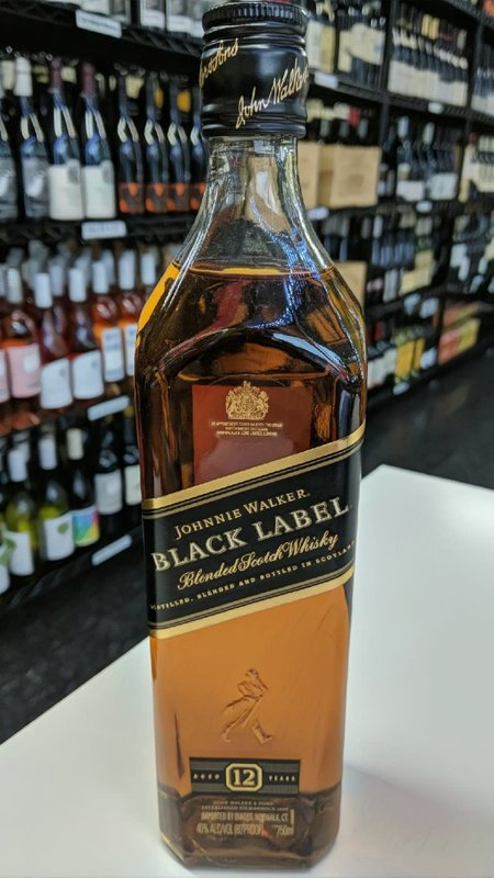 Johnnie Walker Johnnie Walker Black Label Scotch 750ml