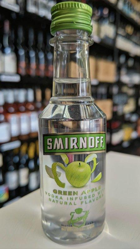 Smirnoff Smirnoff Green Apple Vodka 50ml