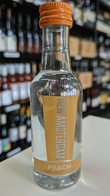 New Amsterdam New Amsterdam Peach Vodka 50ml