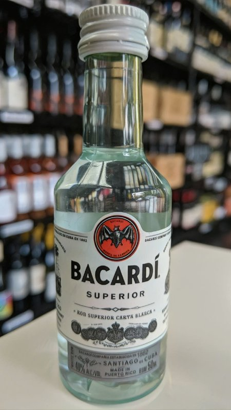 Bacardi Bacardi Superior Rum 50ml