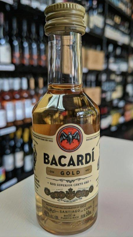 Bacardi Bacardi Gold Rum 50ml