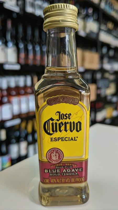 Jose Cuervo Jose Cuervo Gold Especial Tequila 50ml