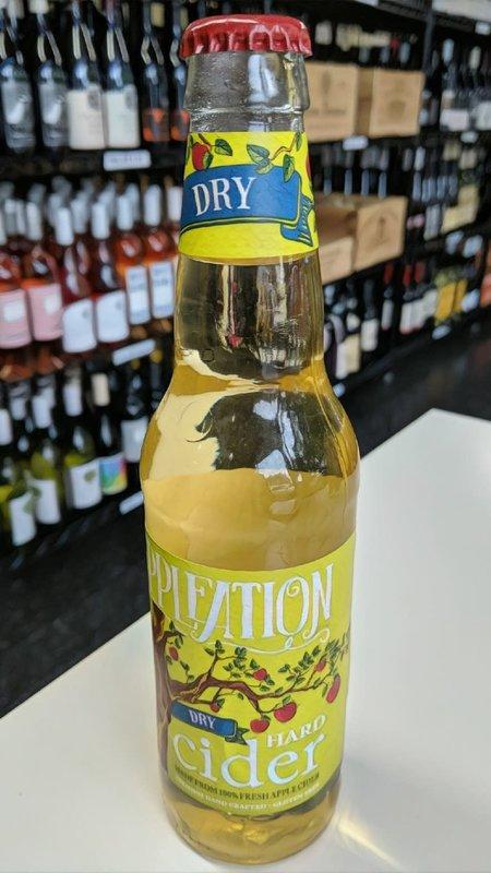 Appleation Appleation Dry Hard Cider NV 12oz