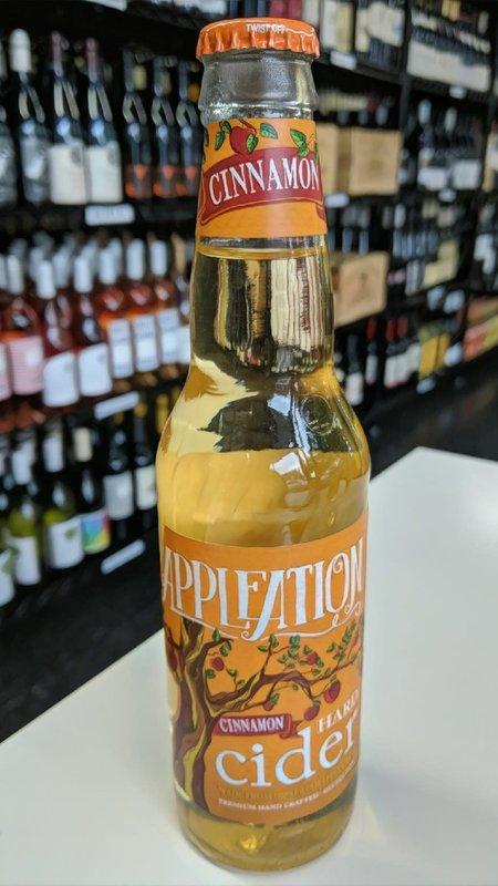 Appleation Appleation Cinnamon Hard Cider NV 12oz